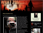Thumbnail of www.whatzombiesfear.com